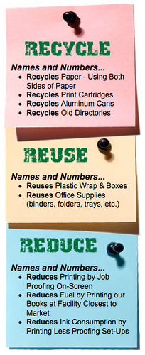 Happy America Recycles Day-Celebrate by Using Less