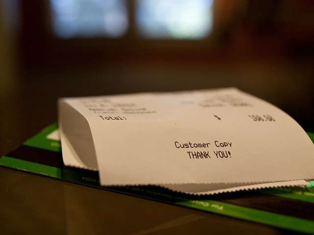 Solution to BPA on Receipts