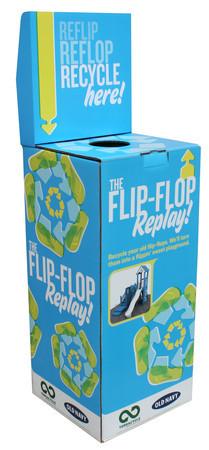 recycle flip flops