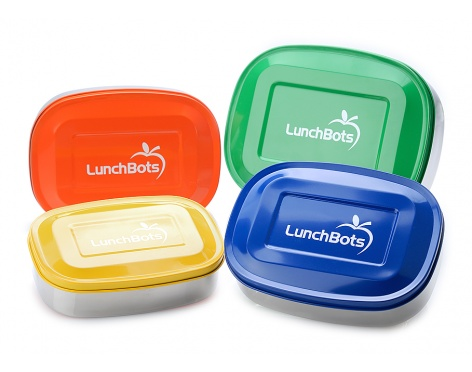 LunchBots stainless steel lunch containers