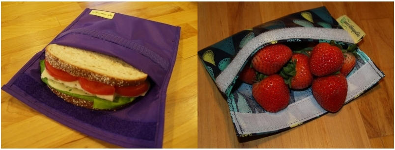 Againbags reusable snack and sandwich bags