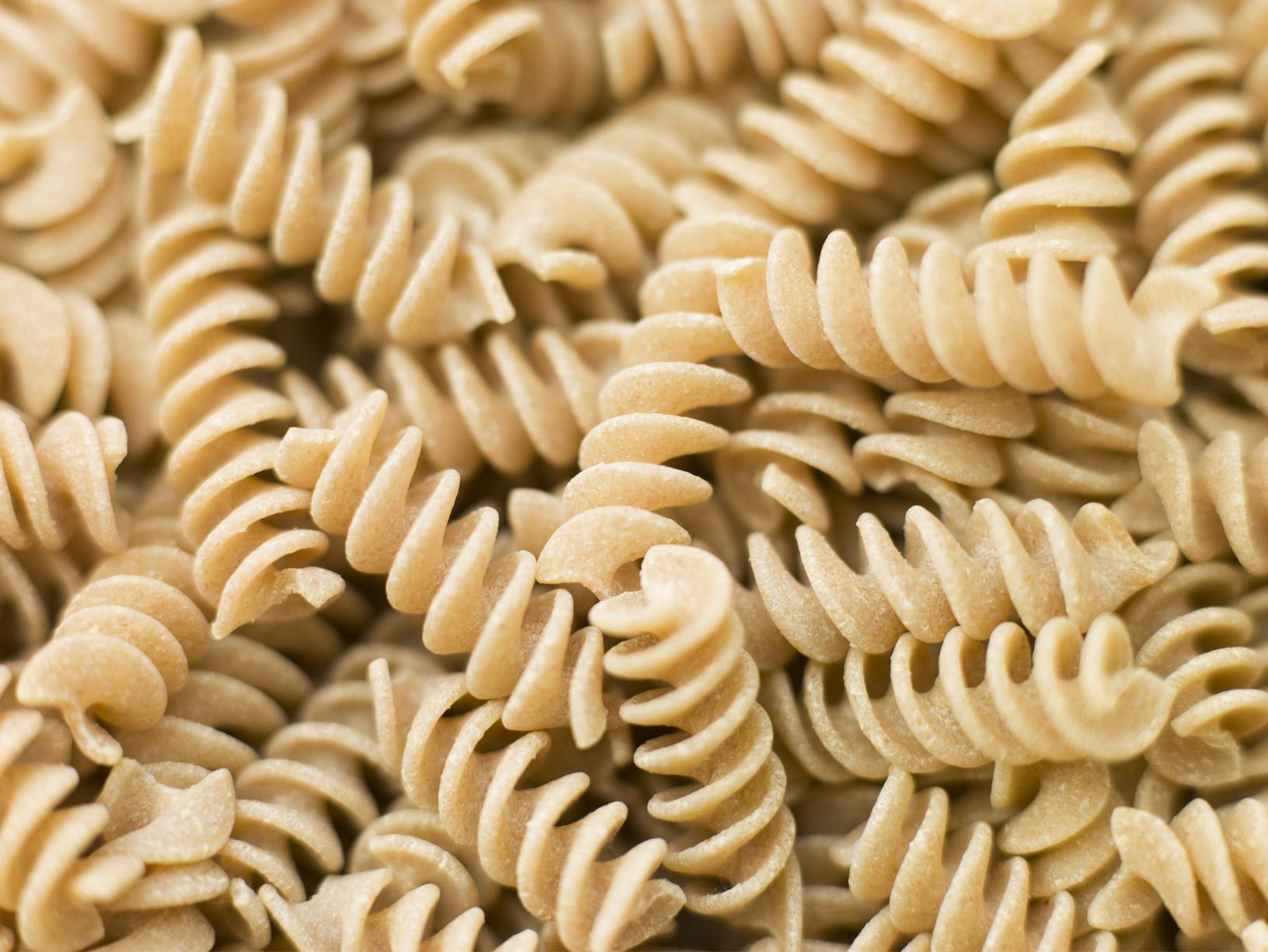 Pasta, Fusilli, Whole wheat