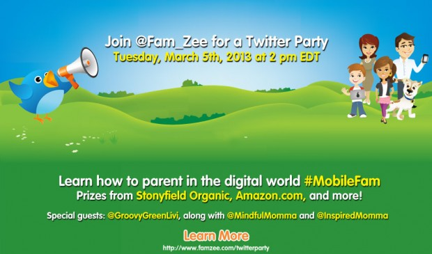 Parenting in a Digital World Twitter Party