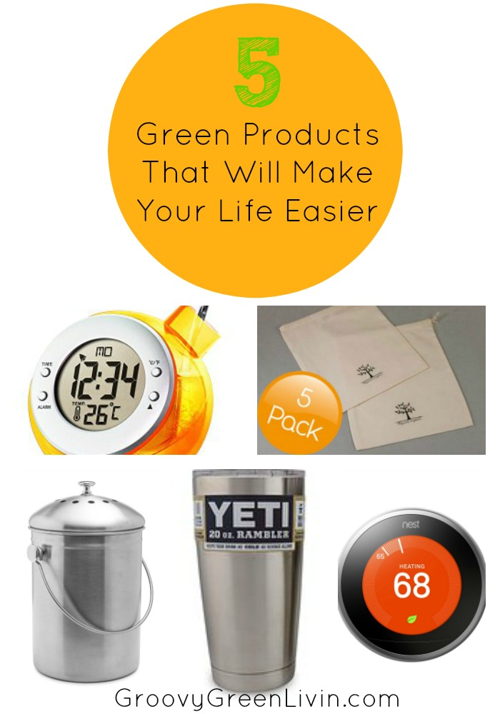 5 Green Products That Will Make Your Life Easier